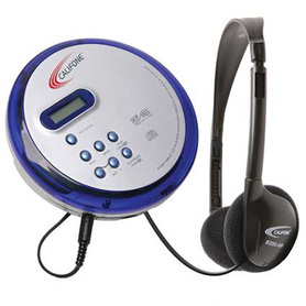 CD Player with Headphones