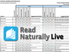 Read Naturally Live Checking Initial Placement Report