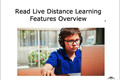 Webinar Video: Read Live: Distance-learning features overview