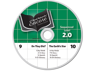 Read Naturally Encore Replacement Audio CDs