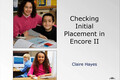 Webinar Video: Read Naturally Encore: Checking initial placement