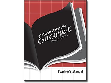Read Naturally Encore/ME Teacher's Manual