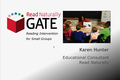 Webinar Video: Read Naturally GATE: Reading intervention for small groups