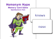 Homonym Hype Card Game
