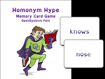 Homonym Hype Card Game