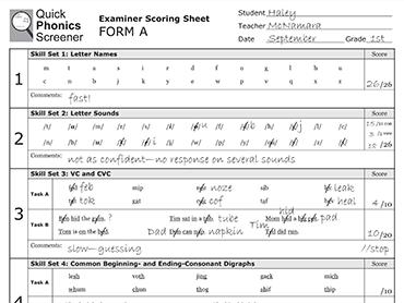 probe 2 reading assessment pdf
