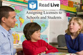Video: Read Live: Assigning licenses to schools and students
