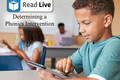 Video: Read Live: Determining a phonics intervention