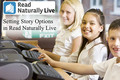 Video: Read Naturally Live: Setting story options
