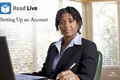 Video: Read Live: Setting up an account