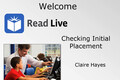 Webinar Video: Read Naturally Live: Checking initial placement