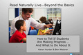 Webinar Video: Read Naturally Live: Beyond the basics