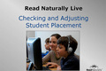 Webinar Video: Read Naturally Live: Checking student placement