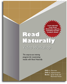 Read Naturally Video Workshop for Teachers