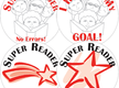Achievement Stickers - Super Reader Variety Pack