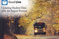 Video: Read Live: Updating student data by importing data
