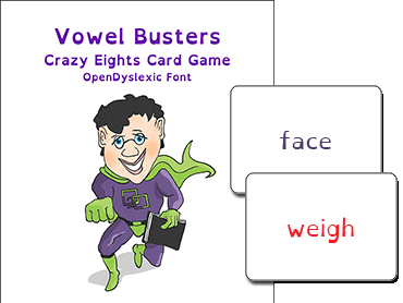 Vowel Busters Card Game