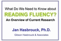 Webcast Video: What we need to know about reading fluency