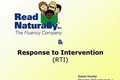 Webcast Video: Read Naturally & Response to Intervention