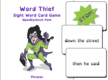 Word Thief Phrases Card Game