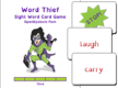 Word Thief Third Level Card Game