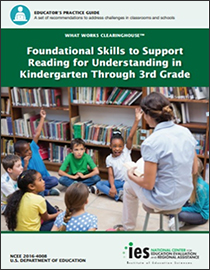 Foundational Skills to Support Reading for Understanding