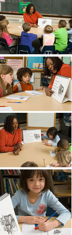 GATE is phonics tutoring and beginning reading program that teaches foundational skills to small groups of early readers using teacher-led, explicit instruction