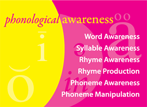 Phoneme awareness includes six developmental levels