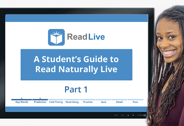resources videos a student s guide to read naturally live rh readnaturally com